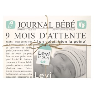 Faire-part Naissance BELARTO Collection Hello World 718020