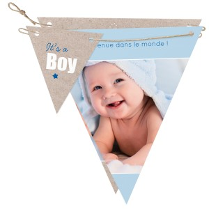 Faire part Naissance Belarto Collection Hello World - 718043