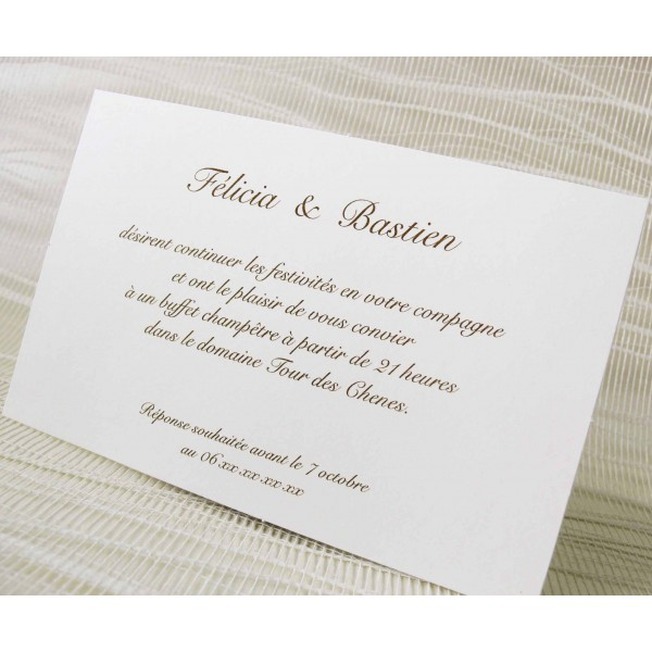 invitations de mariage party invitations ideas. Black Bedroom Furniture Sets. Home Design Ideas