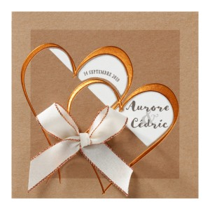 Carte lunch mariage BELARTO - Love - 726061