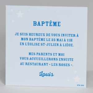 Carte Naissance BUROMAC Baby Folly - 576.304