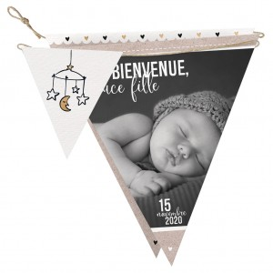 Faire-part naissance BELARTO Collection Welcome Wonder - 717009