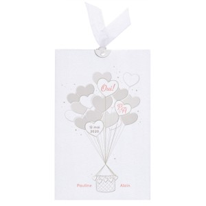 Faire-part mariage Belarto Collection Yes We Do - ref 728006
