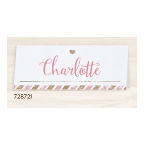 Chevalet porte-nom mariage Belarto collection Yes We Do - ref 728721
